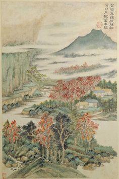 Wang Shimin: Poetic Feeling of Du Fu   China Online Museum