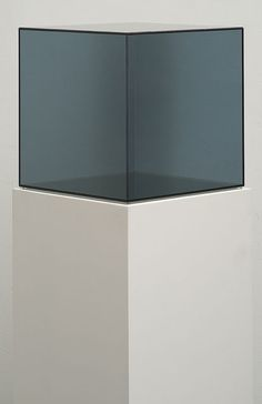 Cube 57 FBC (Framed Black Chrome) from the Cube Series, 2007/2012, by Larry Bell