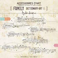 Family Dictionary-Art 1