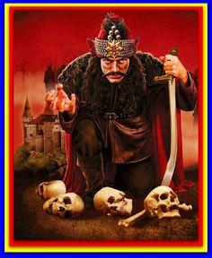Dracula Vlad Impaler x photo reprint , Vlad Tepes / Transylvania Hero Bram Stoker's Dracula, Count Dracula, Vampire Dracula, Gothic Fantasy Art, High Fantasy, Order Of The Dragon, Be Brave Tattoo, Vlad The Impaler, Horror Artwork