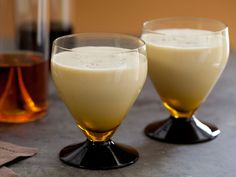 Eggnog : Homemade eggnog, made with real eggs and cream and spiked with bourbon, is an irresistible holiday indulgence. Alton even includes a cooked version, if you'd rather not drink raw eggs.