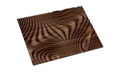 Decorative abstract 3D relief op art sculpture model for CNC machining Flow 7798 by BonitumART on Etsy https://www.etsy.com/listing/495844751/decorative-abstract-3d-relief-op-art
