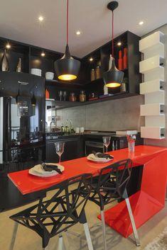 ONE_Pompéia : Cozinhas modernas por Claudia Albertini & Chris Silveira Arquitetos