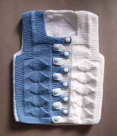 Baby Hand Knit Waistcoat. Kids Sweaters. Kids by formalhouse