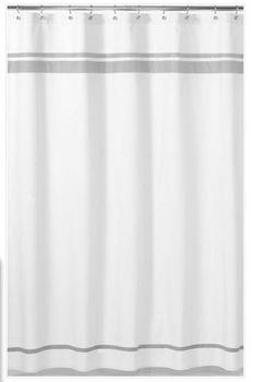 Shaya Braven Cotton Shower Curtain