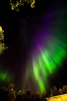"Aurora Borealis from the ""top of the world"" northern Norway"