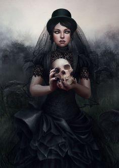 Her own funeral. by *vinegar on deviantART