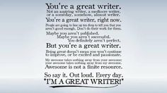 who is a writer?....