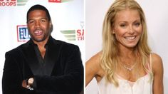"""Kelly Ripa celebrates Michael Strahan's 41st birthday on """"Live with Kelly and Michael"""""""