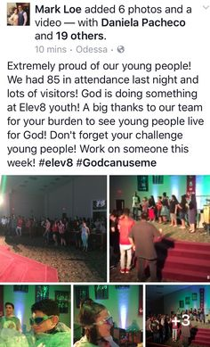 Elev8 youth night : Friday Night Fights