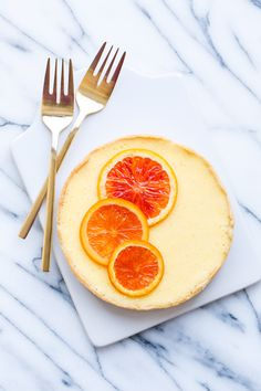 This truly couldn't sound better: orange blossom almond custard tart!