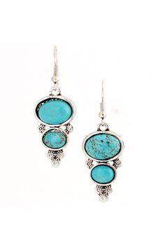 CELESTE - Turquoise drop earrings - Shop Simply Me Boutique – Simply Me Boutique