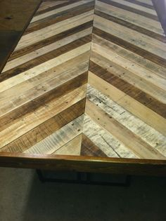 pallet dining table | Pallet dining table minus glass top