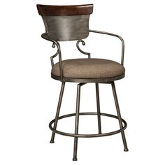 Signature Design by Ashley Moriann 24 in. Counter Stool - D608-624