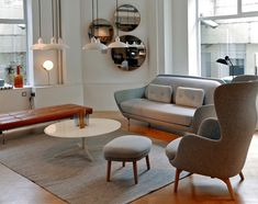 republic of fritz hansen showroom basement