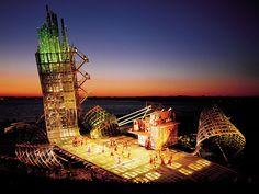 West Side Story designed by George Tsypin at Bregenz Festival