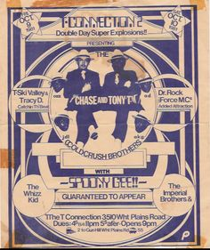 Most of the Old School Party Flyers were Designed By Buddy Esquire and Phase 2…