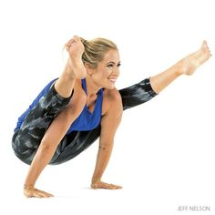 Firefly Pose: Step-by-Step Instructions