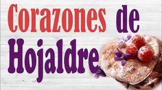 HOJALDRES RELLENOS DE CHOCOLATE NEGRO. CORAZONES DE CHOCOLATE