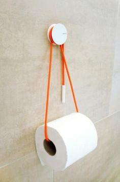 Diabolo Toilet Roll Holder