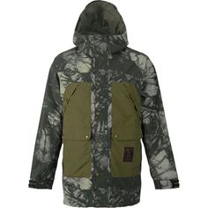 The Burton Men's Vagabond Gore-Tex Jacket acts as an impenetrable fortress against raging blizzards, deep powder dumps, and springtime slush. Loaded with an industry-leading Gore-Tex waterproof, breathable membrane, the Vagabond keeps you pleasantly protected—because sometimes the best snow comes with the worst weather. Fully sealed with Gore-Seam tape, this jacket won't succumb to outside moisture. It's mapped with printed taffeta and solid woven panels, and the jacket features Burton's…