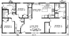 7 Best Modular Homes images | House floor plans, Floor plans ... Fairfield Fairmont Modular Home Floor Plans on