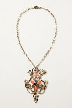 Menagerie Mirrored Monkey Necklace