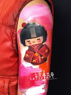 Japanese Kokeshi Doll Watercolor  http://www.ivanatattooart.com  http://instagram.com/ivanatattooart  https://www.facebook.com/pages/Ivana-Tattoo-Art/208943449123095  http://pinterest.com/ivanatattooart/ivana-tattoo-art/  http://www.tumblr.com/blog/ivanatattooart  https://twitter.com/IvanaTattooArt  https://www.youtube.com/channel/UCVBBHNIxheDodn0-T9cd_Sw?view_as=subscriber