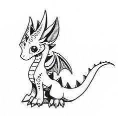 Inktober sketch by Dragons&Beasties
