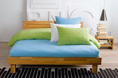 Bellano bed, Schön.günstig. products by Pfister First Flat, Cuddle, Linen Bedding, Corner, Couch, Furniture, Home Decor, Linen Sheets, Settee