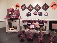 Jake`s 2sd birthday...Construction Party