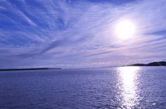 céu de Caraíva em um dia sol maravilhoso
