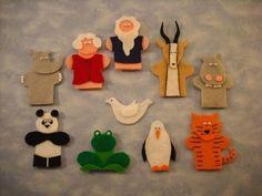 Noah's Ark Finger Puppets Pattern   Craftsy