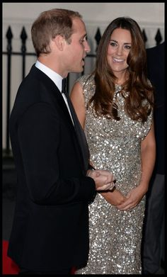 Duchess Catherine and Prince William attend the inaugural Tusk Trust Awards held at the Royal Society 12 Sept 2013