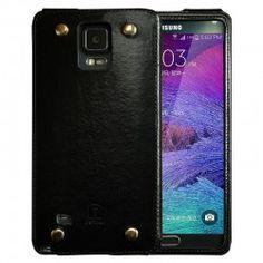 Galaxy Note 4 Oatsbasf Leather Metal Stud Case