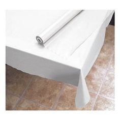 "Amazon.com: Hoffmaster 114000 Plastic Tablecover Roll, 300' Length x 40"" Width, White: Industrial & Scientific $16.30 Amazon Prime"