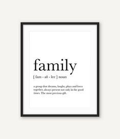 family-wall-art-family-definition-funny-definition-art-family-print-definition-prints-affiche-definition-family-quotes-family-gifts/ - The world's most private search engine Funny Definition, Definition Of Family, Mothers Day Quotes, Mom Quotes, Words Quotes, Funny Family Quotes, Funny Quotes, Sayings, Ideas