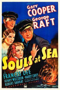 Souls at Sea (1937) - US One Sheet