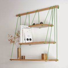 The best DIY projects & DIY ideas and tutorials: sewing, paper craft, DIY. Best DIY Furniture & Shelf Ideas 2017 / 2018 Shelves by Outofstock -Read