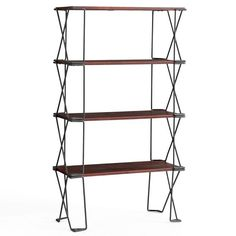 Take a Look at Pottery Barn's New Small Space Collection - Dublin Stackable Shelving Unit from InStyle.com