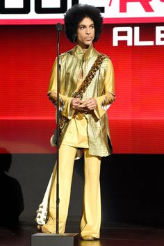 Prince, November 22, 2015 Where: At the American Music Awards in Los Angeles.