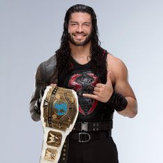 From Asuka's historic run as NXT Women's Champion to Kyle O'Reilly & Bobby Fish winning the NXT Tag Team Championship, see photos of every single title reign in WWE from Wwe Roman Reigns, Roman Reigns Wwe Champion, Wwe Superstar Roman Reigns, Bobby Fish, Roman Regins, The Shield Wwe, Love Your Smile, Wwe Champions, Royal Rumble