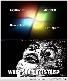 GUYS GUYS GUYS WHAT IF WINDOWS WAS CREATED BY ARTHUR WEASLEY!!!!!