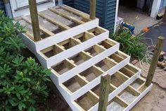 Deck over concrete stoop