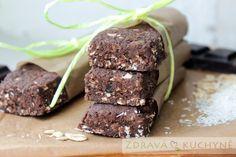 Čokoládové proteinové tyčinky