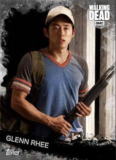 Walking Dead Season, Fear The Walking Dead, Glenn Y Maggie, Walking Dead Pictures, Glenn Rhee, Comic Games, Norman Reedus, Tv Series, It Cast