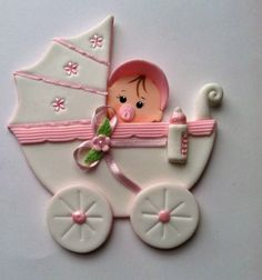 Baby Shower Cake Topper First Birthday Cake by LucirisCreations, $8.95