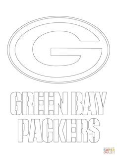 down the bay coloring pages | Green Bay Packers Printable Coloring Pages | ... NFC North ...