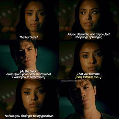 THIS BAMON SCENE BROKEN ME BONNIE CRYING AND SAYING HOW SHE'S NEVER GOING TO SEE HER BEST FRIEND AGAIN  #TVD