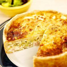 Leek and Potato Tart Recipe